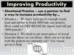 improving productivity1