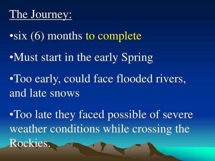 The Journey: