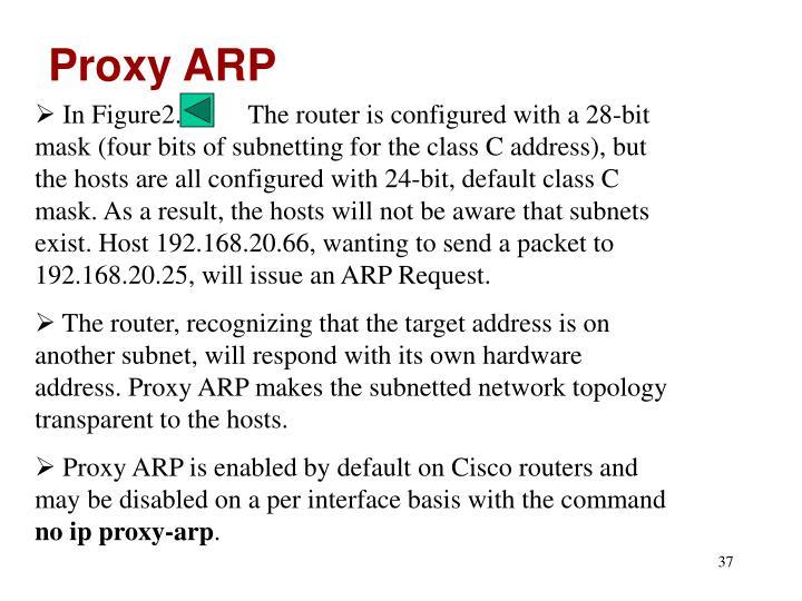 Proxy ARP