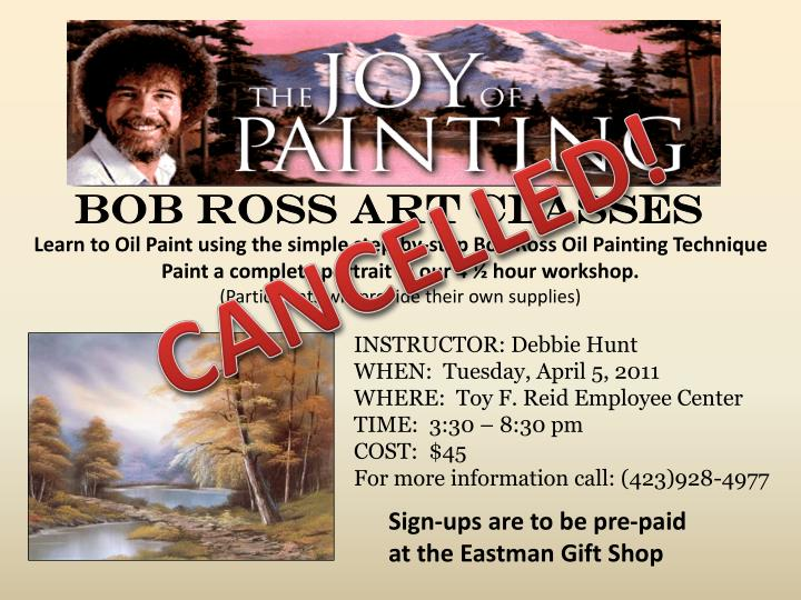 Ppt Bob Ross Art Classes Powerpoint Presentation Id6562330
