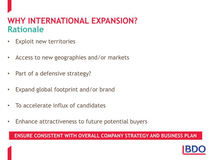 evaluate an international expansion strategy for goya essay Significant business growth may only be possible through international expansion international exposure also enables a company to achieve an international reputation, which may be important if it is to be regarded as an industry leader.