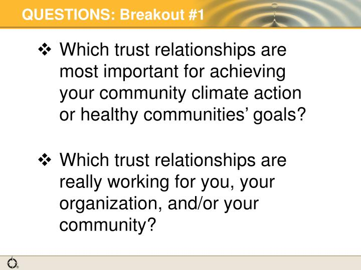 questions about trust in relationships