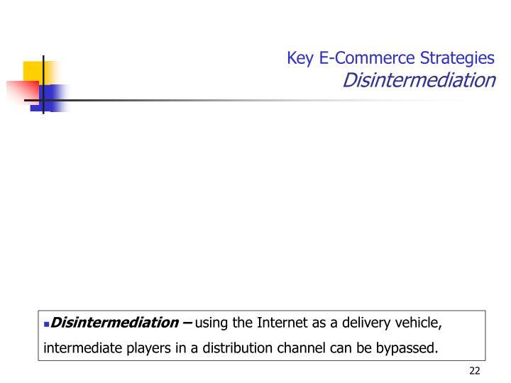 Key E-Commerce Strategies
