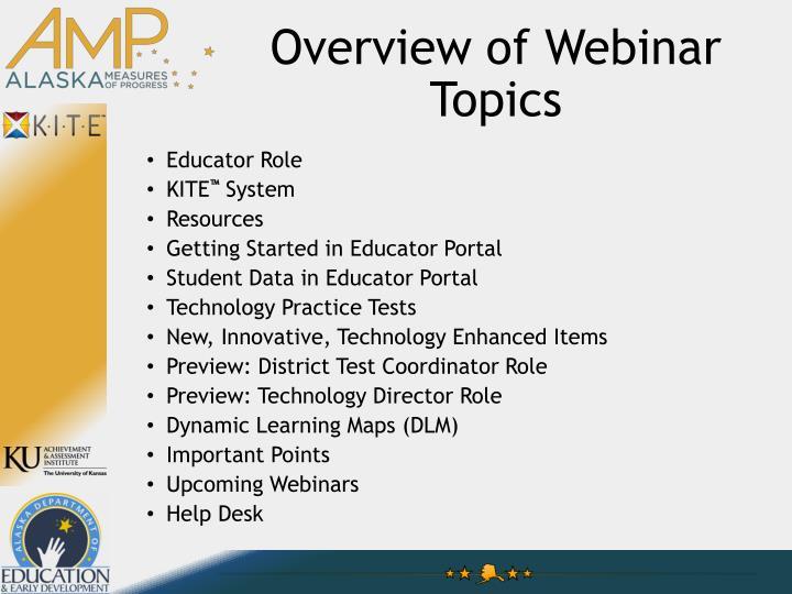 PPT - Alaska Measures of Progress Educator Webinar PowerPoint