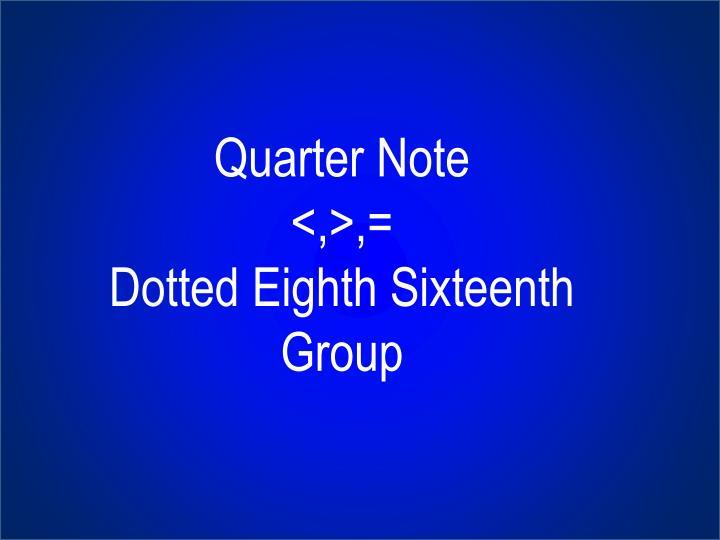Quarter Note