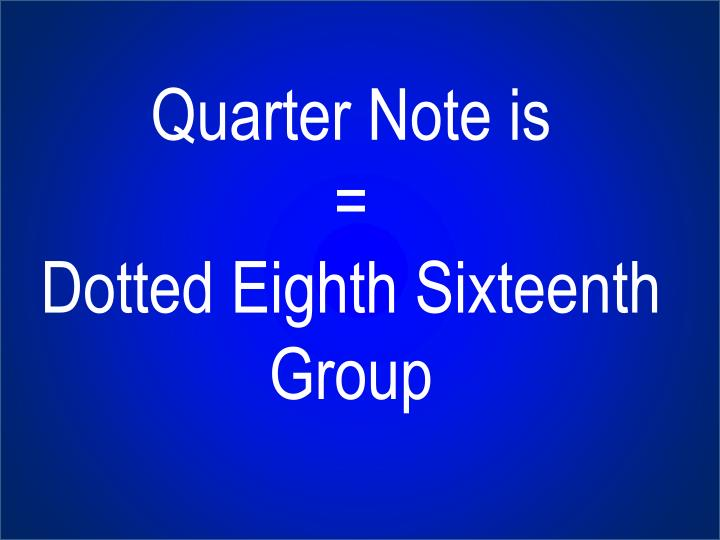 Quarter Note is