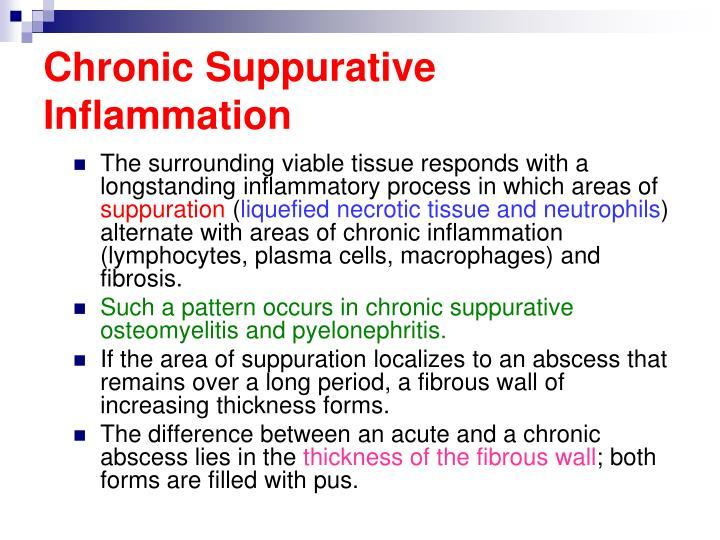 Chronic Suppurative Inflammation