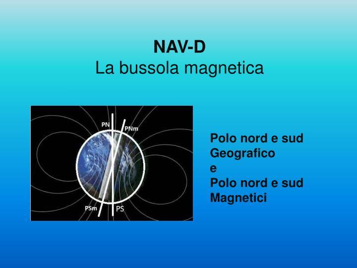 Nav d la bussola magnetica