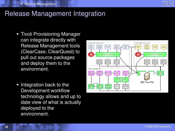 Release Management Integration