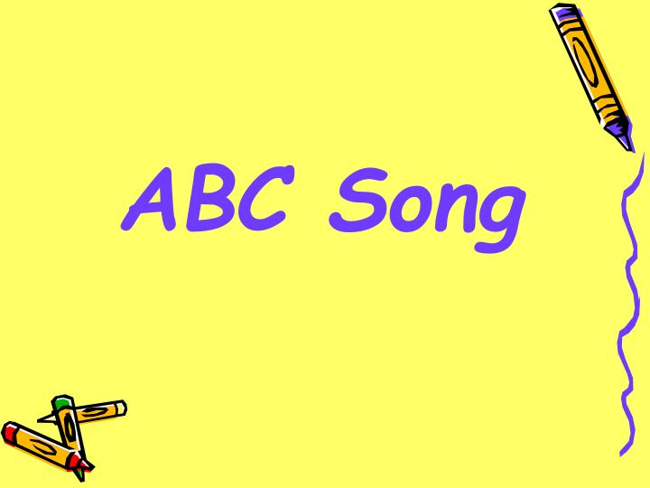 Abc song