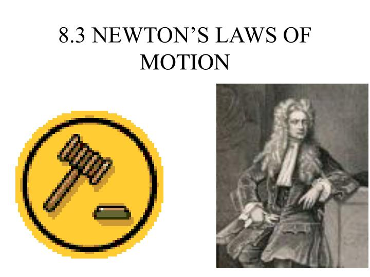 a scientific paper about newtons three laws of motion Visit for free science videos for children a brief video for children explaining newton's laws of motion in an easy & fun way the first law states that 'things want to keep on doing what they are already doing.