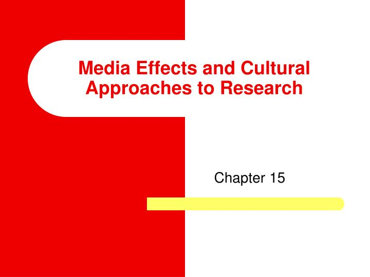 research on the effects of media Early media studies focused on the use of mass media in propaganda and persuasion however, journalists and researchers soon looked to behavioral sciences to help figure out the effect of mass media and communications on society scholars have developed many different approaches and theories to figure this out.