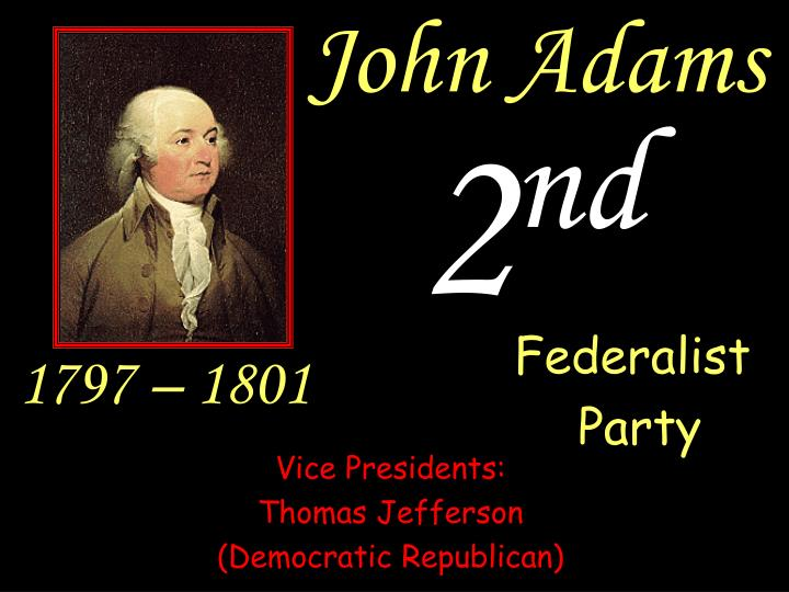 an analysis of anti federalists and john adams