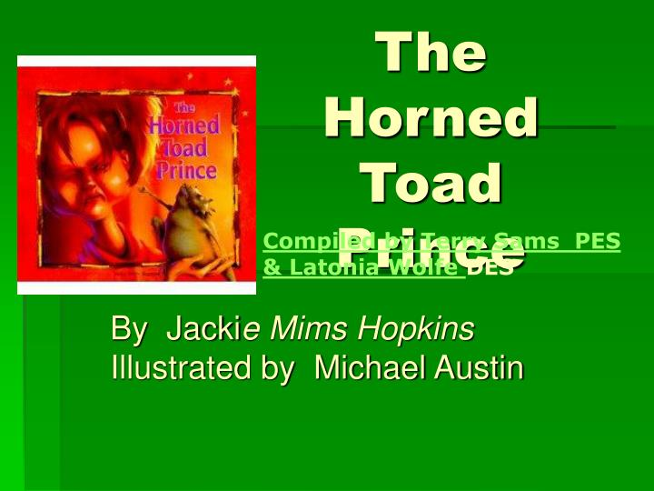 the horned toad prince n.