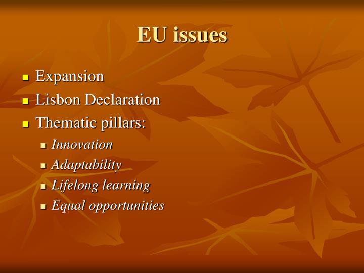 EU issues