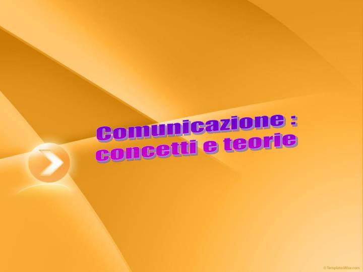 Comunicazione :