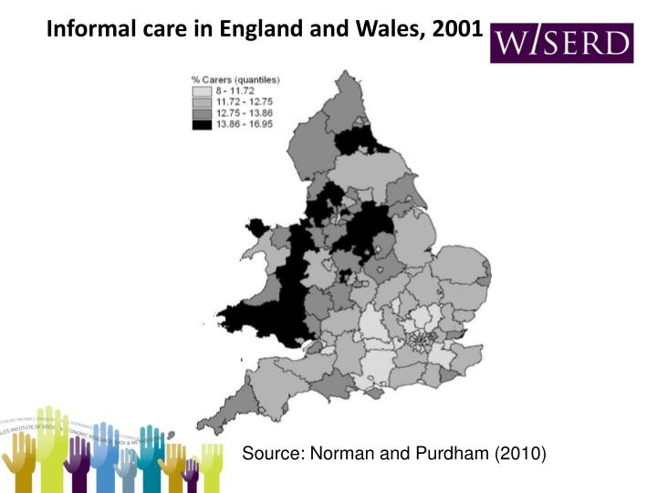 Informal care in England and Wales, 2001