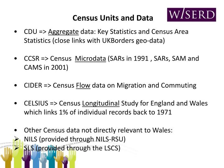 Census Units and Data