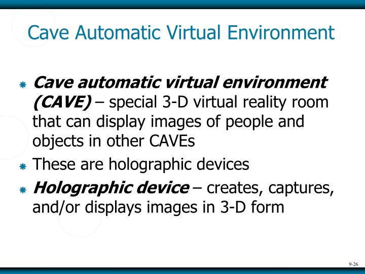 Cave Automatic Virtual Environment