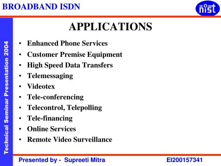 Enhanced Phone Services