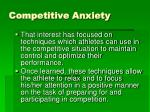 competitive anxiety1