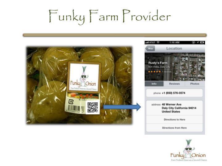 Funky Farm Provider