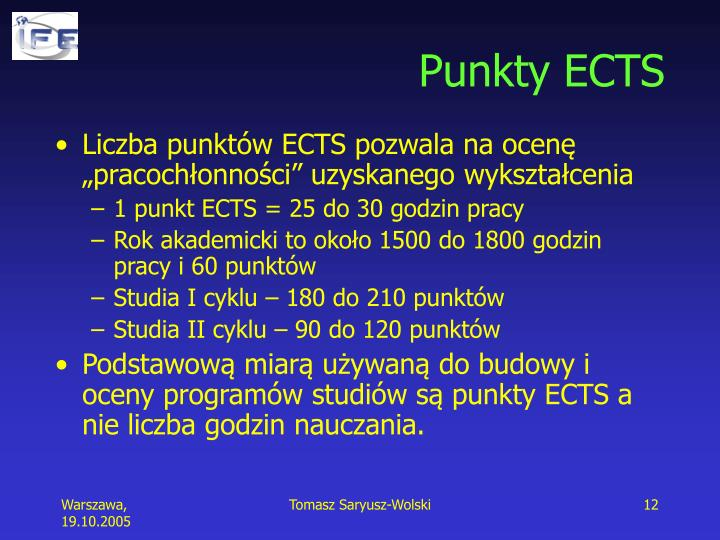 Punkty ECTS