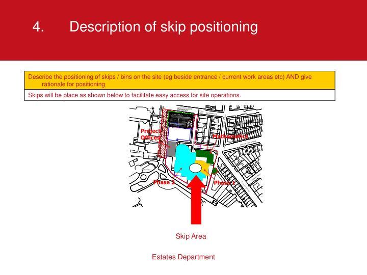 4.Description of skip positioning