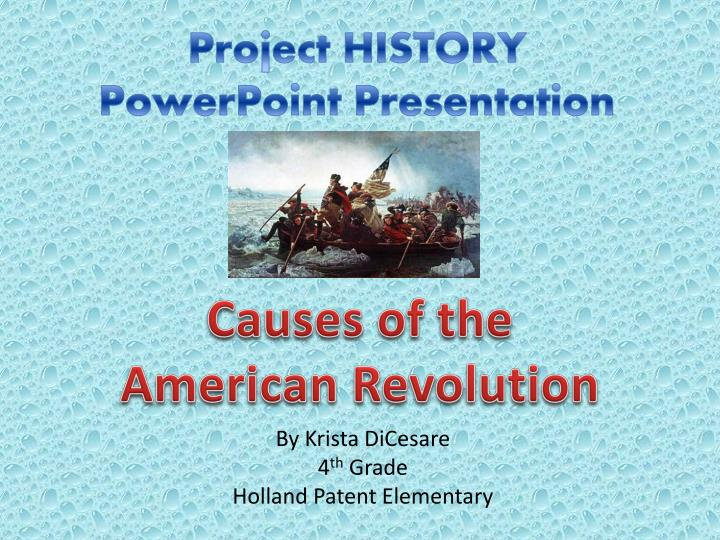 project history powerpoint presentation n.