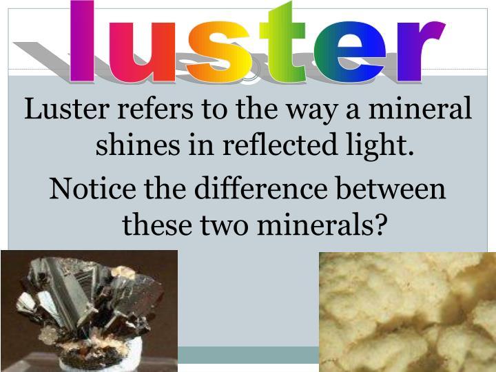 luster