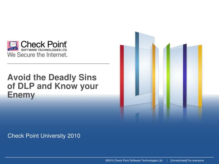 avoid the deadly sins of dlp and know your enemy n.