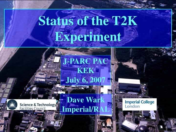 Status of the T2K Experiment