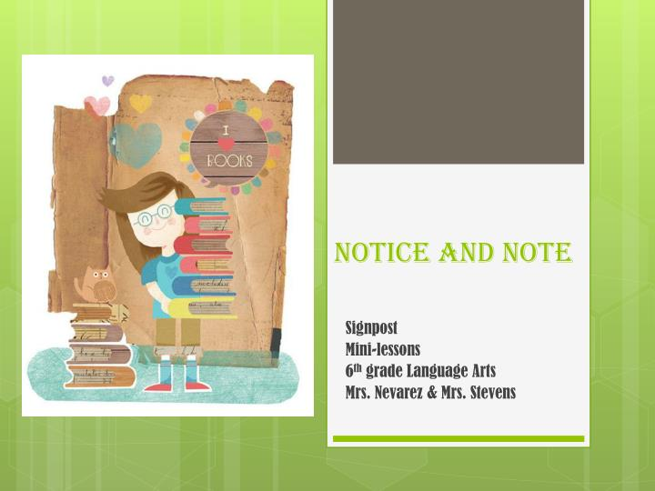 notice and note n.