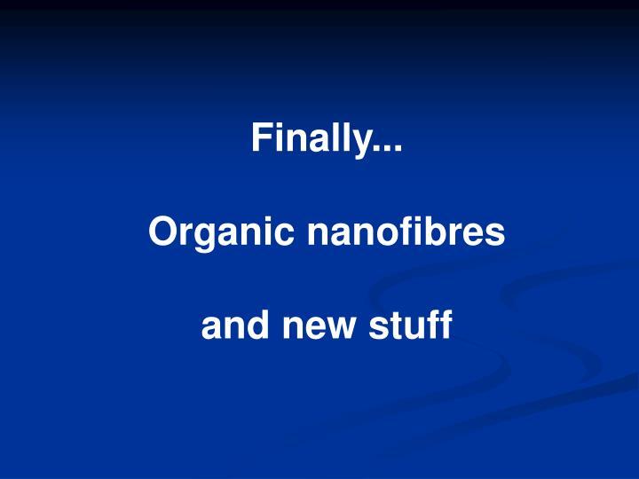 Finally...