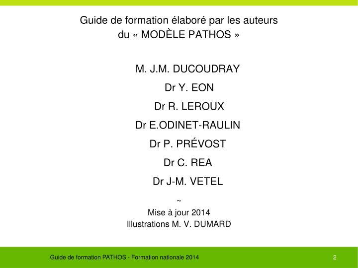 Guide de formation élaboré par les auteurs