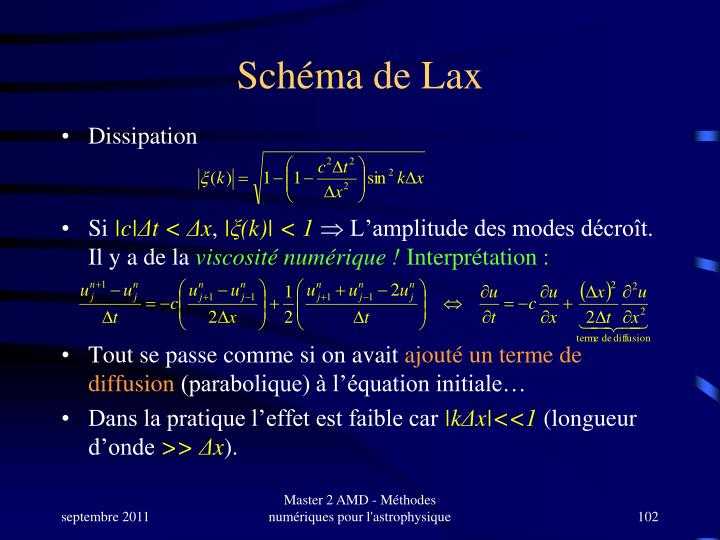 Schéma de Lax