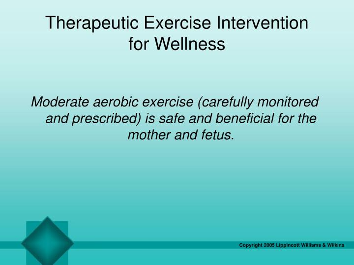 Therapeutic Exercise Intervention