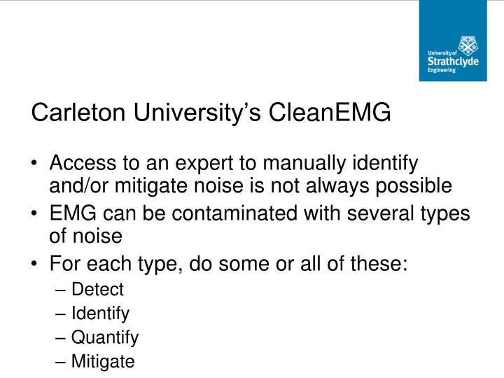 Carleton University's