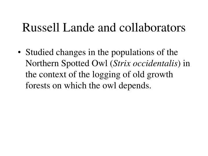 Russell Lande