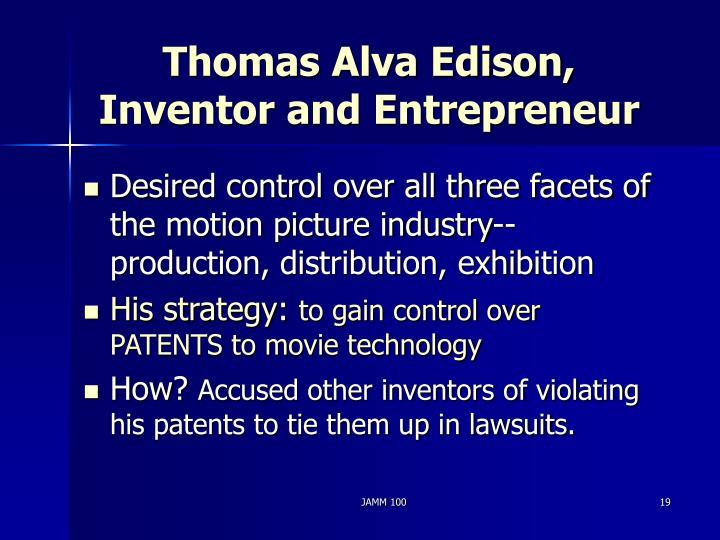 Thomas Alva Edison,