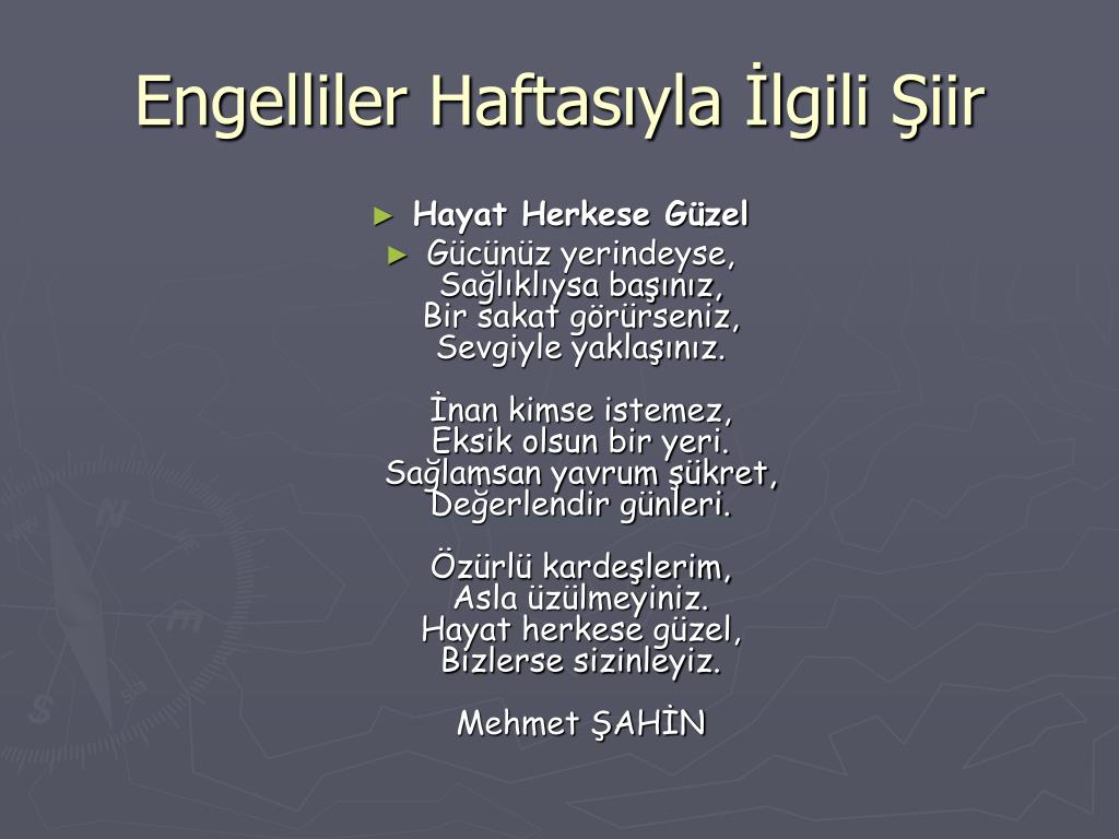 PPT - Engelliler Haftası PowerPoint Presentation, free download ...