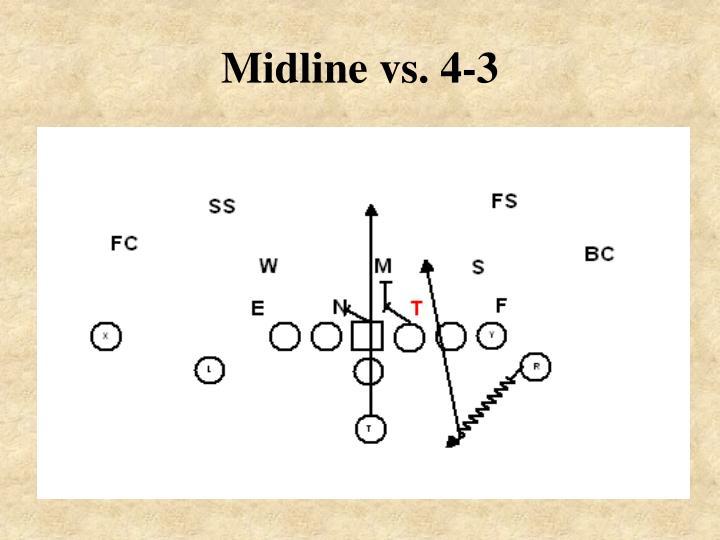 Midline vs. 4-3