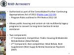 rad authority