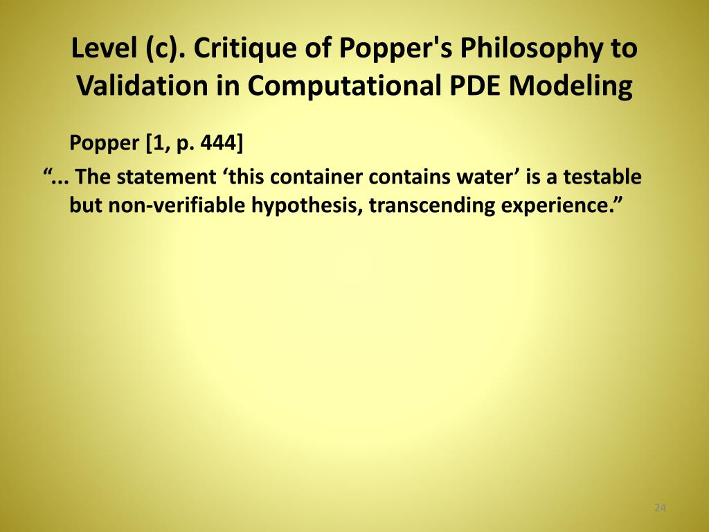 PPT - A Defense of Computational Physics (Popper's Non