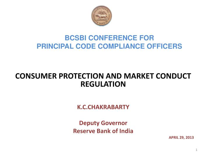 bcsbi conference for principal code compliance officers n.
