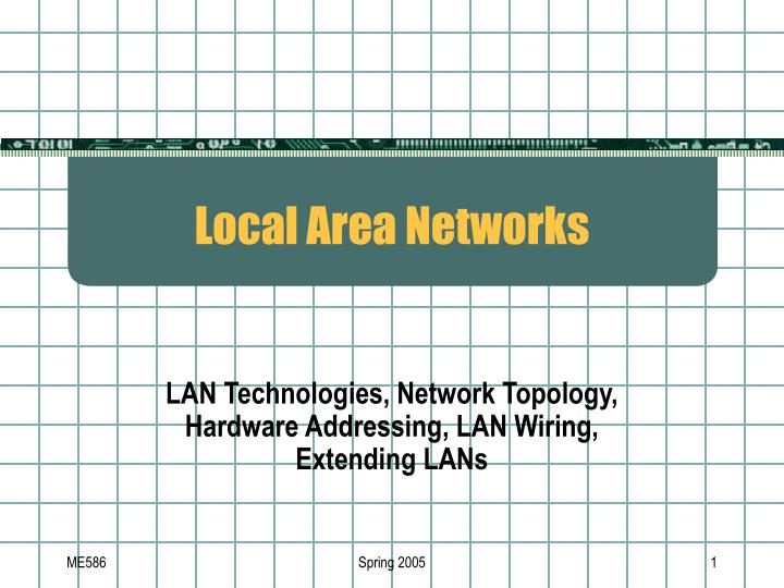 local area networks n.