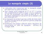 le monopole simple 3