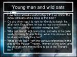young men and wild oats1