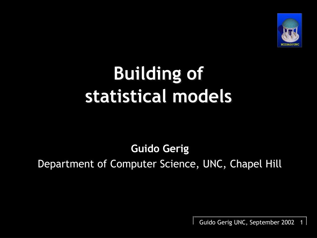 Ppt chapter 6 / supplemental statistical models powerpoint.