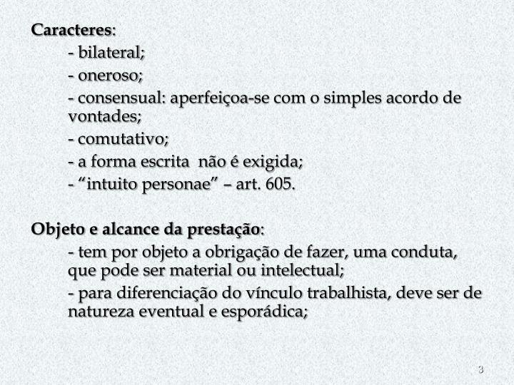 Caracteres